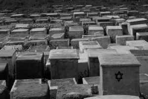 Jewish cemetery (Essaouira used to have a substantial Jewish population, but most left in the early 50s)
