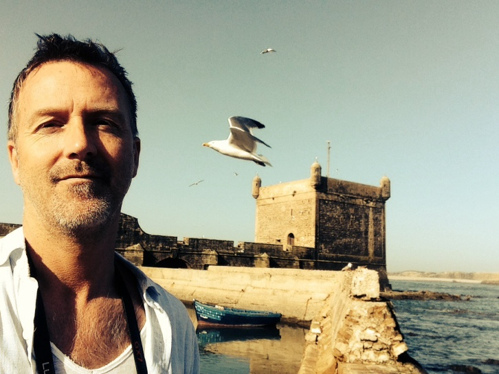 Photo-bombed by a seagull...