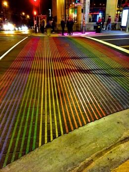 Castro street crossings