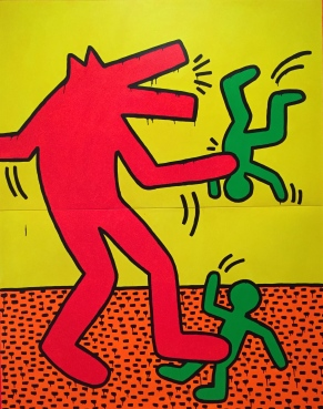 Keith Haring at the de Young