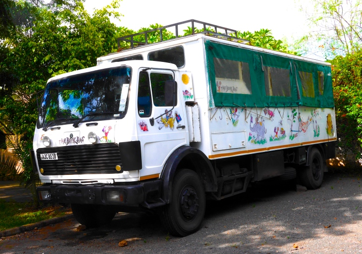 The Book Bus still visits local schools, bringing along volunteers to spend time reading with the children