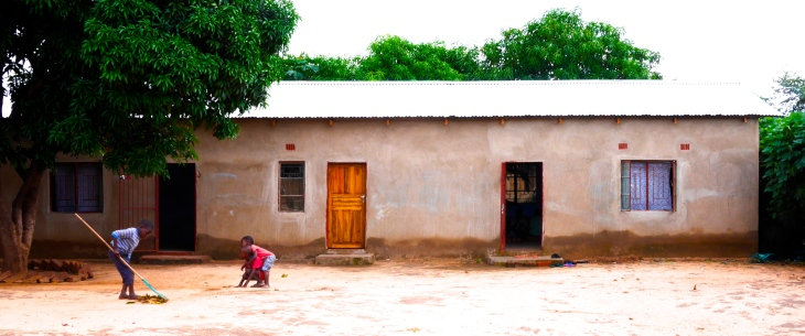 The new Livingstone reading room (additionlly, on the left, is a small classroom)