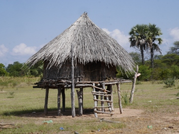 Traditional homestead in Binga