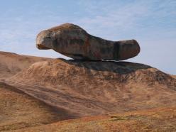 Domboshava, 'balancing rock', near Harare