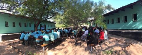 A school lesson in Nyaminyami