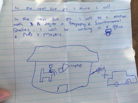 The dreams and aspirations of a Camfed / Kiva borrower