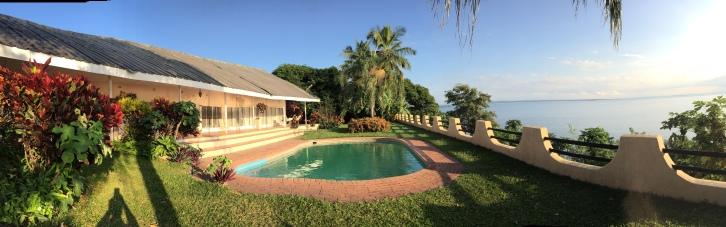 Looking over Lake Kariba, at Binga
