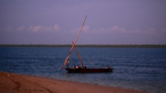 Traditional Lamu 'dhow'
