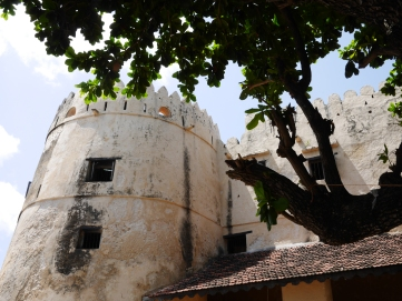 The fort in Lamu town