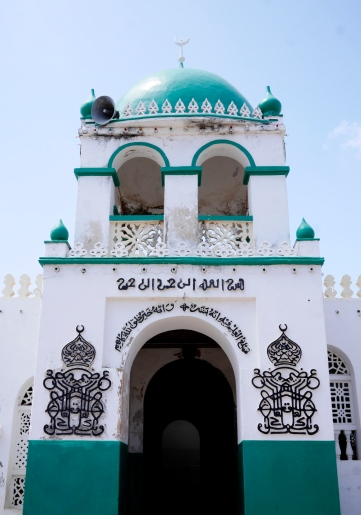 The main mosque in Lamu - one of 23